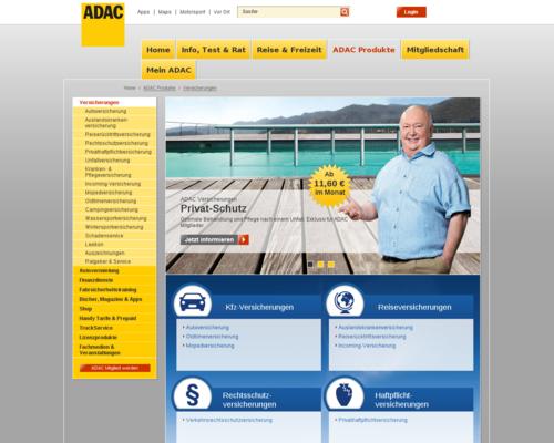 ADAC Versicherungen