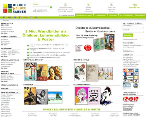 Bilder-Bilderrahmen.de