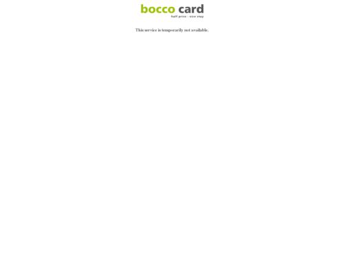 bocco card