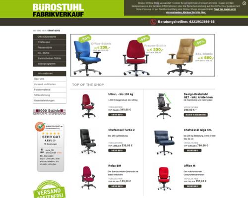 Bürostuhl Fabrikverkauf