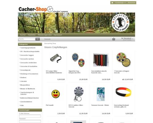 Cacher Shop