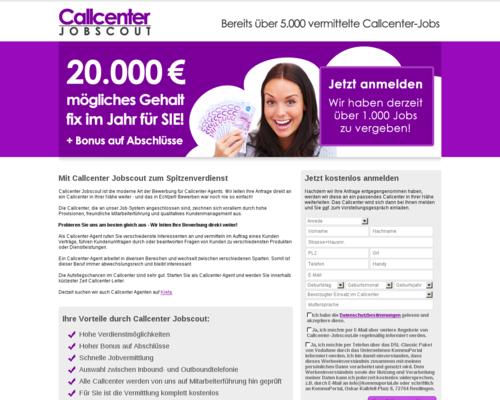 Callcenter Jobscout