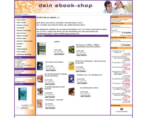 Dein eBook Shop