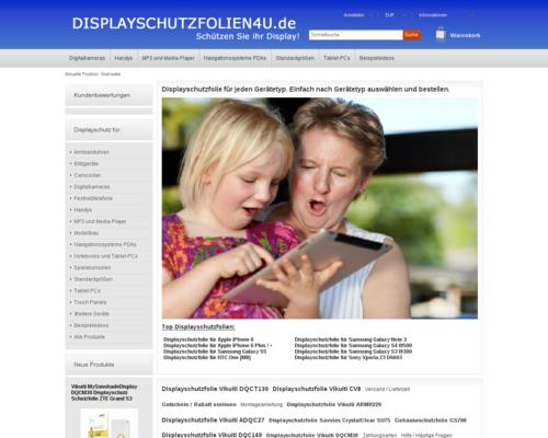 Displayschutzfolien4u