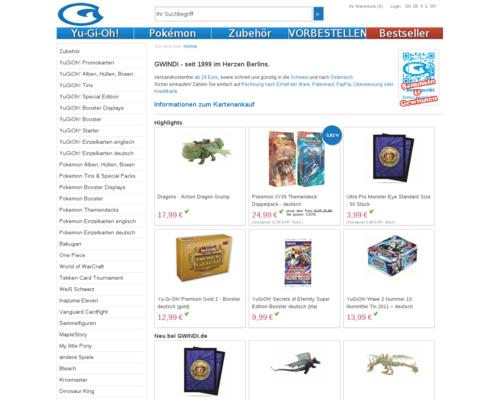Gwindi Card Shop