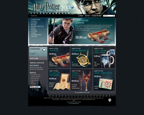 HarryPotter Shop