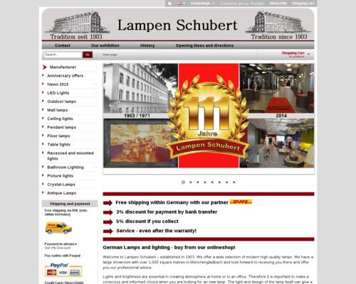 Lampen Schubert