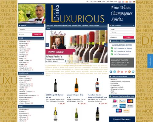 Luxurious Drinks