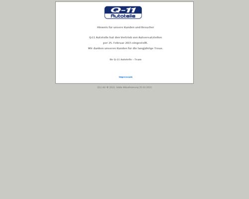 Q11 Autoteile
