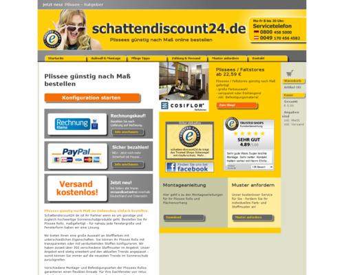 Schatten Discount 24 Gutschein Juni 2019 Gutschein Seite