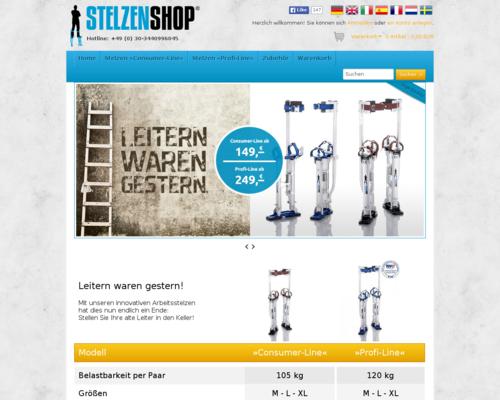 Stelzen Shop Gutschein April 2018 Gutschein Seite