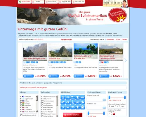 Südamerika Reiseportal