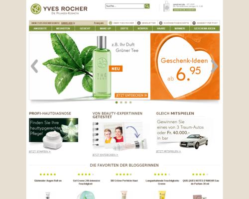 Yves Rocher.ch