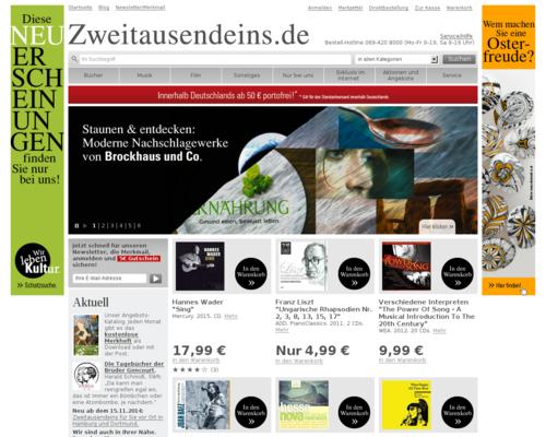 Zweitausendeins.de